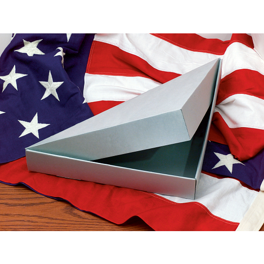 Gaylord Archival® E-Flute Clamshell Flag Box