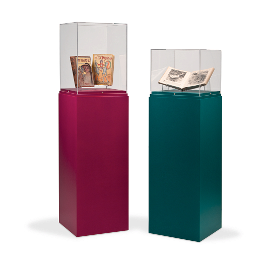 Gaylord® Jewell™ Painted Pedestal Exhibit Case