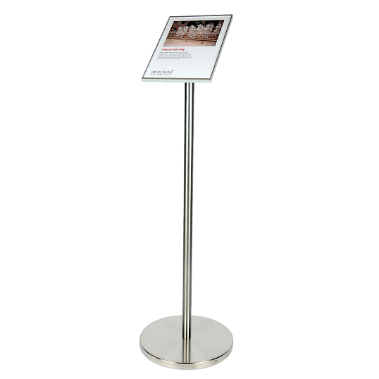 Gallery Information Sign Stand