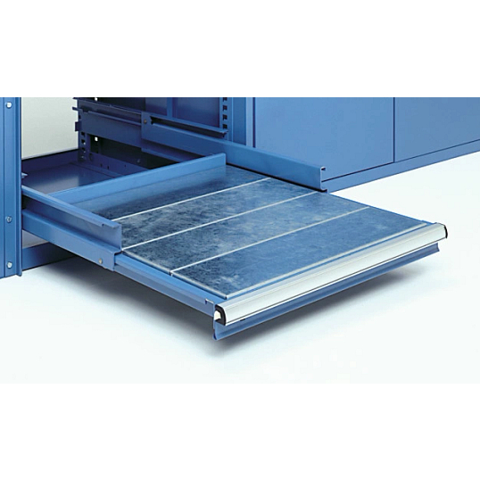 Lista Heavy-Duty Roll-Out Tray for Storage Wall® Modular Storage System