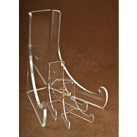 Jule-Art Double Bend Acrylic Plate Display Easel