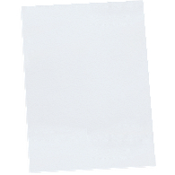 White Buffered Endpapers (100-Pack)