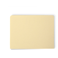Gaylord Archival® Untabbed Expanding Legal Size Manuscript File Folders (100-Pack)