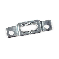 Security Mounting Bracket Plates (100-Pack)