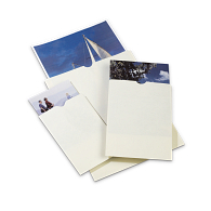 Gaylord® 80 lb. Text Unbuffered Negative & Print Envelopes with Thumb-Cuts (100-Pack)