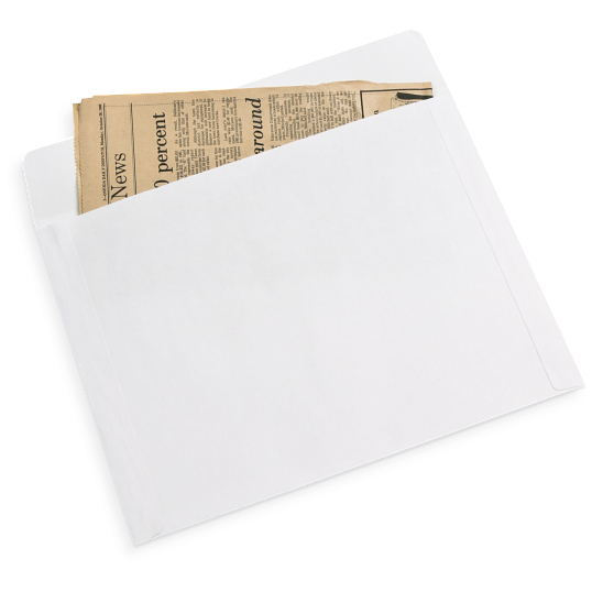 Gaylord® 80 lb. Text Buffered Long Side Opening Envelopes (50-Pack)