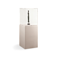 Gaylord® Jewell™ Paintable Pedestal Exhibit Case