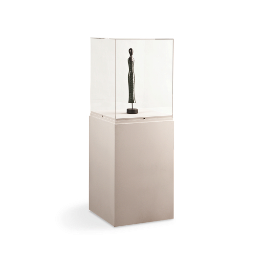 Gaylord Archival® Jewell™ Paintable Pedestal Exhibit Case