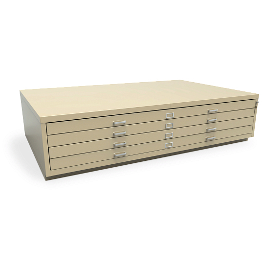 Extra-Large 4-Drawer Horizontal Flat File