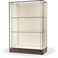 Gaylord® Curator™ Gallery Museum Case with Glass Top