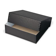 Gaylord® Black Barrier Board Deep Lid Archival Print Box