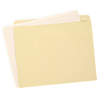 Gaylord Archival® Full Tab Expanding Legal Size Manuscript File Folders (100-Pack)