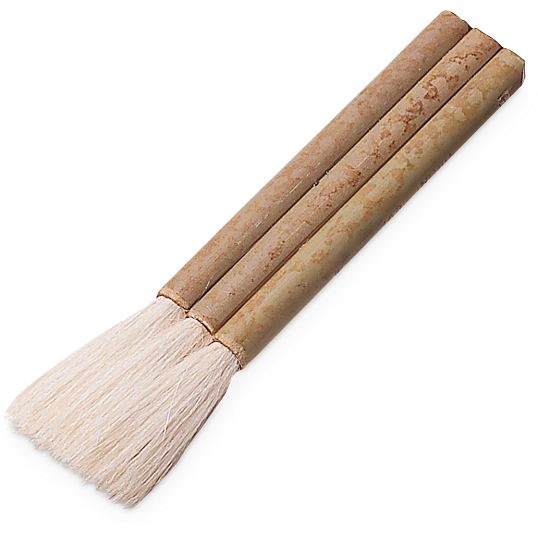 3-Shaft Bamboo Hake Brush
