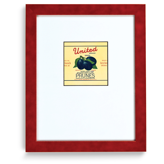 Gaylord Archival® Red JellyBean Collection Wood Frame Kit