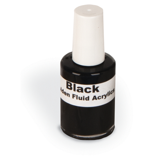 Black Acrylic Fluid