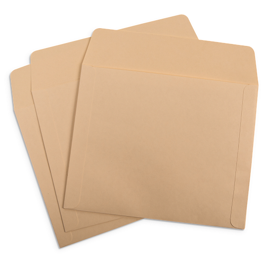 Long Side Opening Envelopes (25-Pack)