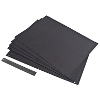 "16 x 24"" 3-Hole Punched Mounting Pages (25-Pack)"