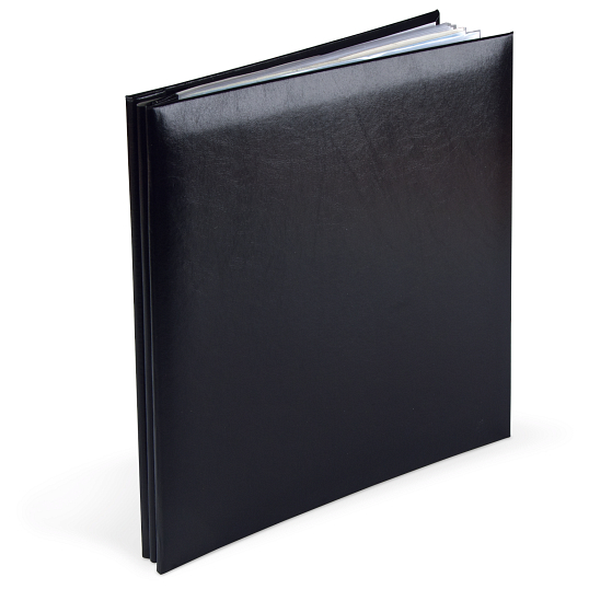 Post-Bound Leatherette Memory Scrapbook