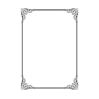 Gaylord Archival® Removable Border Design Archival Bookplates (50-Pack)