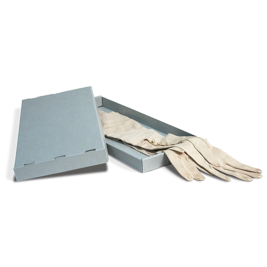 Gaylord Archival® Blue E-flute Women's Glove Box