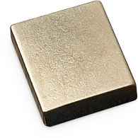 Nickel-Plated Steel Small Book Weight