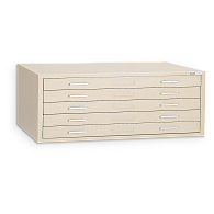 "Mayline C-Files® Horizontal 5-Drawer Flat File for 24 x 36"" Sheets"