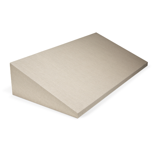 Gaylord Archival® Metro™ Linen-Wrapped Angled Riser
