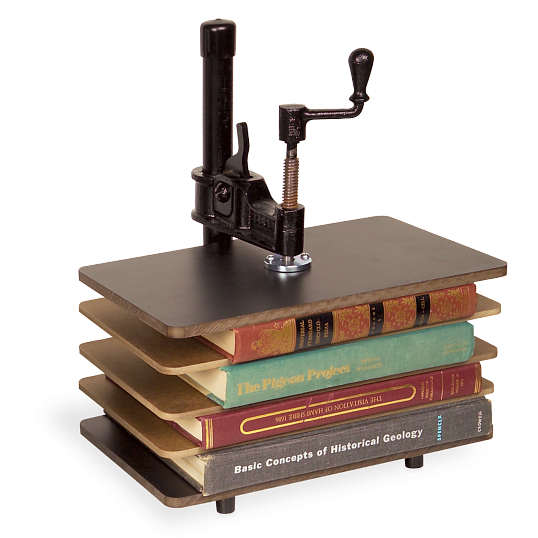 Gaylord Archival® Bookcraft® Steel & Masonite Small Book Press