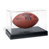 Gemini Moulding Football Exhibit Case