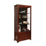 Gaylord Archival® Eastwood™ Panel Back Cabinet Base Exhibit Case