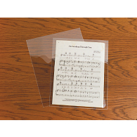 Gaylord® 4 mil Archival Polyester Sheet Music Envelopes (10-Pack)