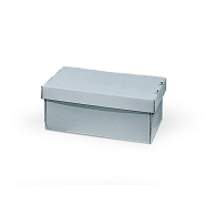 Gaylord Archival® Blue E-flute Shallow Lid Archival Multipurpose Box