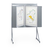 Multiplex System 8000 10-Panel Loop Fabric Displayer