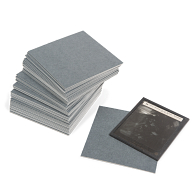 Gaylord Archival® Blue/Grey Barrier Board Lantern Slide Dividers (50-Pack)