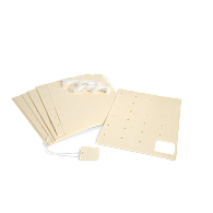 Gaylord Archival® 80 lb. Text Laser Artifact Tags (1,200-Pack)