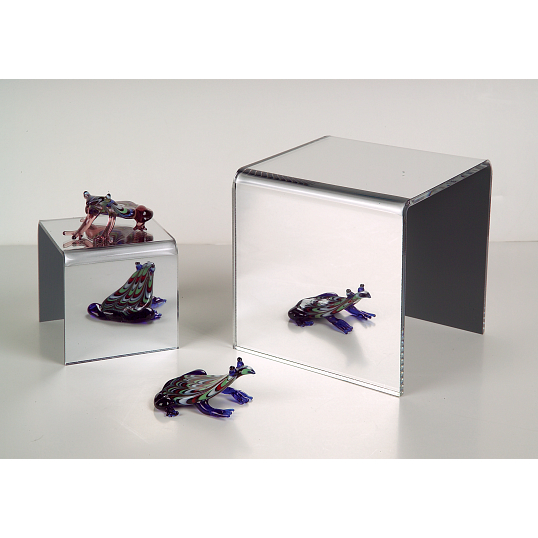 Jule-Art Mirrored Acrylic Display Riser