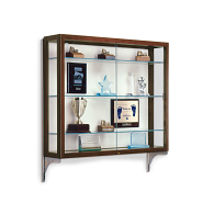 Waddell Heirloom Wall-Mount Exhibit Case with Fabric Back