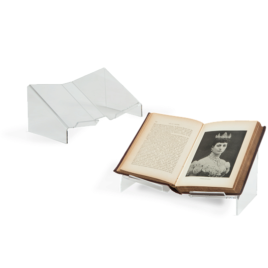 Acrylic Lipped Open Book Cradle