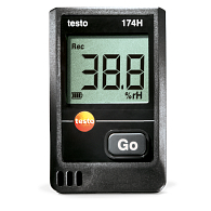 Testo® Mini Temperature & Humidity Data Logger Starter Kit