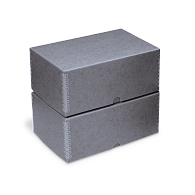 Gaylord Archival® Blue/Grey Barrier Board Deep Lid Box