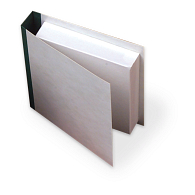 Gaylord® Double Pressboard CD Shelf Binder