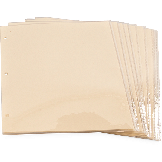 3 mil Archival Polyester Page Protectors (25-Pack)