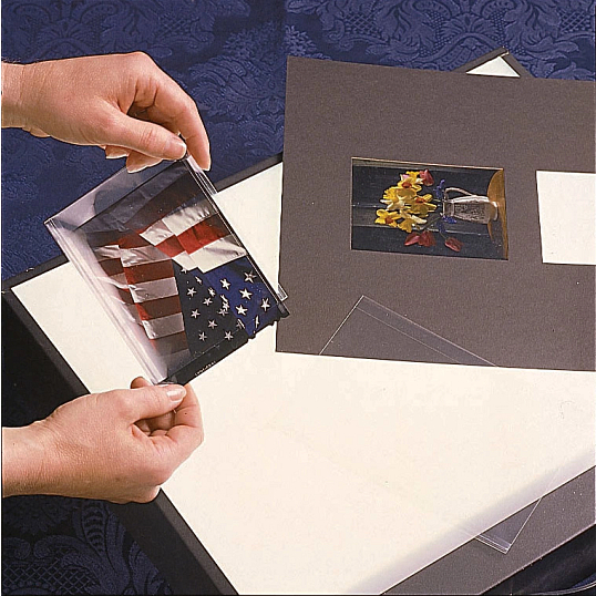 Gaylord Archival® 2.4 mil Polypropylene Negative & Print Sleeves (100-Pack)