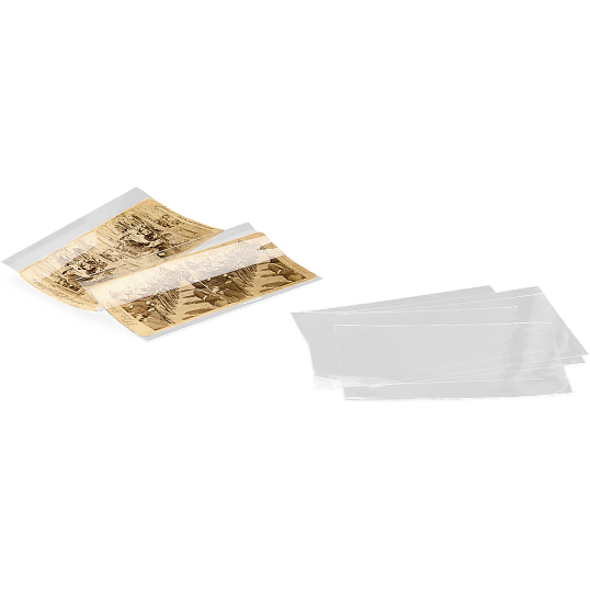 Gaylord Archival® 2 mil Archival Polyester Stereoscopic Card Sleeves (25-Pack)