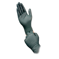 Flock-Lined Nitrile Gloves (25 Pairs)