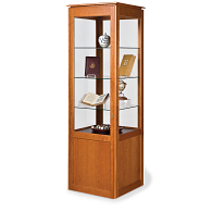 Gaylord® Sedgwick™ Tower Exhibit Case