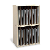 Safco® Vertical Stacking Rack