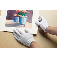 George Glove Company Disposable Cotton Gloves (12 Pairs)
