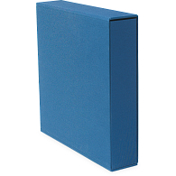 "1 1/2"" D-Ring Buckram Keepsake Album with Slipcase"