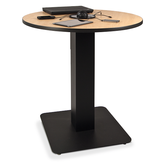 Round Mobile Device Power Table